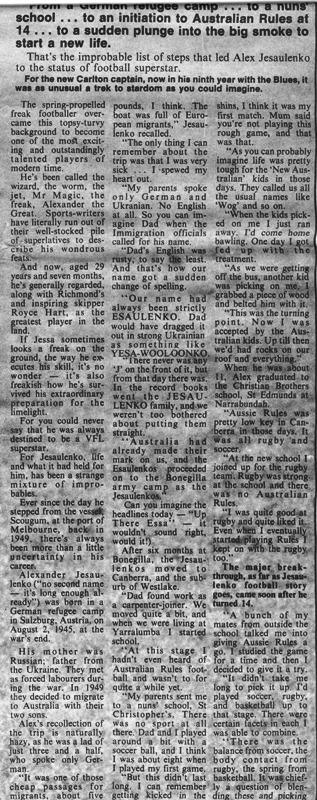 1975 - Jezza The Real Story (page 2 of 5) 05/04/75.